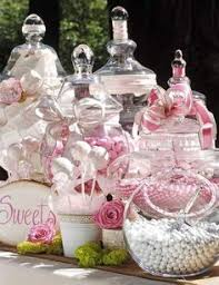 Pink Wedding Candy Buffet by Wedding Candy Buffet Table Silver Grey And White Wedding