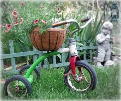 vintage planters vintage tricycle planter plant holder yard