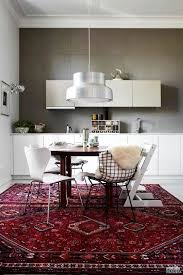 Yum Kitchen Rug Trend Alert Rugs In The Kitchen Eclectic Kitchen