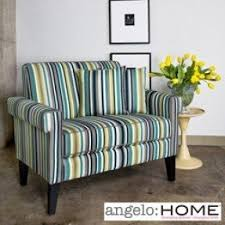 Striped Living Room Chair Striped Accent Chair With Arms Foter
