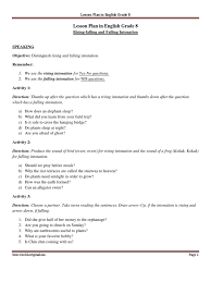 Drawing Conclusions Worksheets 4th Grade Rising And Falling Intonation Part Of Speech Adverb