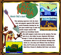 taz mania taz mania details launchbox games database