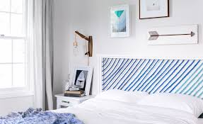 Bedroom Wall Padding Uk Modernise Your Bedroom With A Simple Headboard Transformation