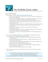 brilliant ideas of cover letter for writing portfolio sample also