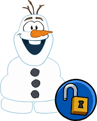 olaf costume image olaf s costume unlockable icon png club penguin wiki