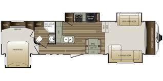 Keystone Rv Floor Plans 2015 Keystone Rv Cougar Fifth Wheel Series M 337 Fls Specs And