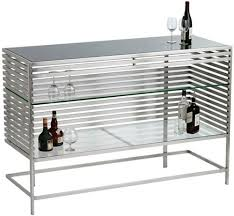 stainless steel bar table furniture fashionthe colne is a modern home bar table