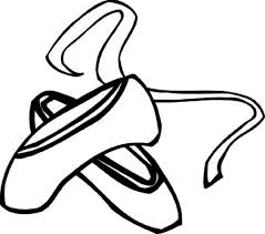 ballerina shoes coloring pages ballerina