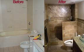 useful remodeled bathrooms before and after magnificent decorating