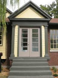 Exterior Door Pediment And Pilasters by Historic New Albany