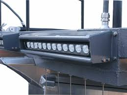 boat led light bar new led light bars improve nighttime surveys smith root