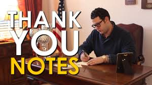 Thank You Letter Notes Samples how to write a thank you note the art of manliness youtube