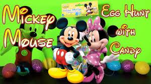 mickey mouse easter egg mickey mouse 6 easter egg hunt w stickers disney minnie mouse
