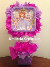 sofia the first centerpiece available at www etsy com shop