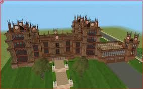 mod the sims wollaton hall mentmore towers wayne manor