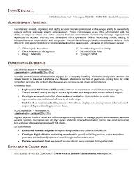 Examples Of Administrative Assistant Resumes How To Write A Cover Letter For Retail Assistant Choice Image