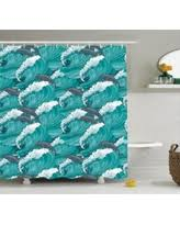 Surfer Shower Curtain Save Your Pennies Deals On Surf Decor Shower Curtain Set Cute