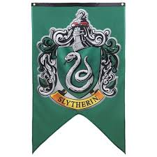Harry Potter Decor by Harry Potter House Wall Banner Badge Patch Gryffindor Flag