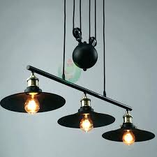industrial pulley pendant light new industrial pulley pendant light primitive 3 light industrial new