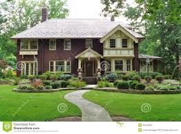English Style Home Large Old English Tudor Style Home Stock Photo Image 78787299