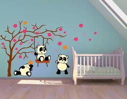 klebefieber kinderzimmer wandsticker pandafreunde wandtattoos kinderzimmer wandsticker