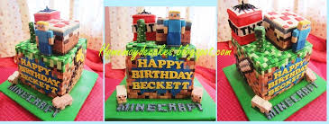 home may u0027de cakes the making minecraft cake