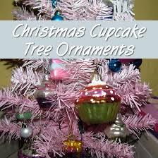 sweet cupcake tree ornaments