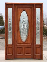 Exterior Wooden Doors With Glass by 8 U0027 0