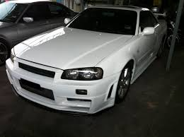 nissan r34 black the ultimate nissan skyline bible 2011