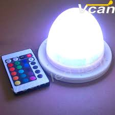 wholesale led under table lights 10pcs dhl free shipping factory wholesale rgbw colors change
