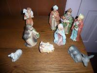 home interiors nativity 12 home interior homco nativity set bisque
