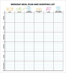 lunch box planner template sportsnation club data meal plan template excel im