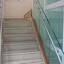 Glass Handrails For Stairs Glass Railing In Bengaluru Karnataka Glass Staircase Railing