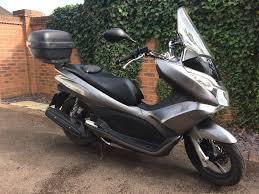 honda pcx 125 scooter reg 2012 metallic grey very low
