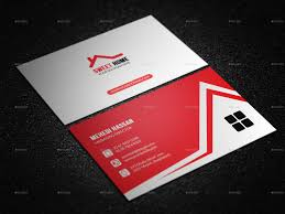 real estate business card by mehedi hassan graphicriver