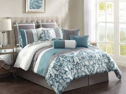 bedding set blue and grey bedding winnable nice bedroom sets