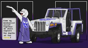 jeep baby meme toriel u0027s jeep u2014 weasyl
