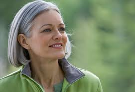women in forties and grey hair how to embrace gray hair stop dyeing your hair