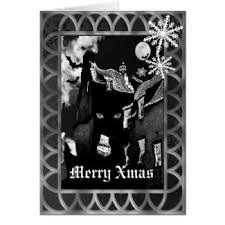 black christmas cards christmas cards the cool card shop