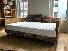 double mattress daybed full size mattress daybed frame industrial