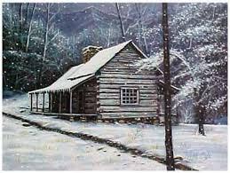 winter cabin randall ogle gallery cades cove artist ogle cabin winter