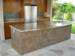 Outside Tile For Patio Outdoor Kitchen Countertops Tile Navteo Com The Best And