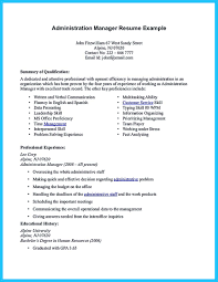 A Example Of A Resume by If You Seek A Job For Administrative Position You Need To Fulfill