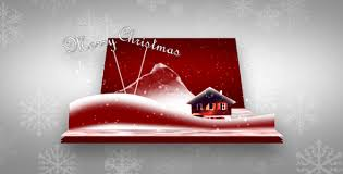 3d christmas cards 3d christmas card by meccdesign videohive
