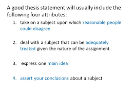 write a good thesis statement how to write a thesis statement 1 brainstorm the topic dogs 2
