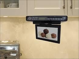 kitchen tv under cabinet kitchen wonderful television in the