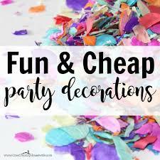 cheap decorations and cheap diy party decorations caroline vencil