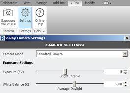 Vray Physical Camera Settings Interior Interior Lighting Quickstart V Ray For Revit Chaos Group Help