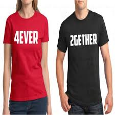 top s day gifts t shirt 2gether 4ever s day gift men and women