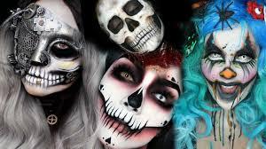 Top Halloween Makeup Ideas by Top Easy Halloween Makeup Tutorial Compilation 2016 Youtube